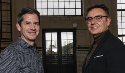Jasper Scheir en Wim Hamaekers