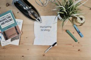 Een marketingplan en marketingstrategie wordt uitgewerkt